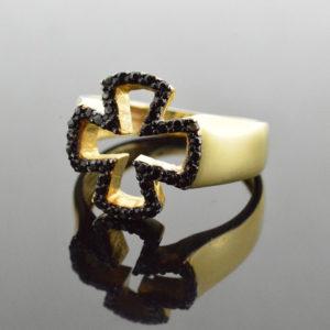 Χρυσό δαχτυλίδι 14Κ  #002