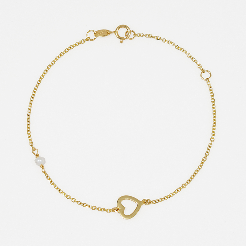 Χρυσό βραχιόλι Κ14  XB00014
