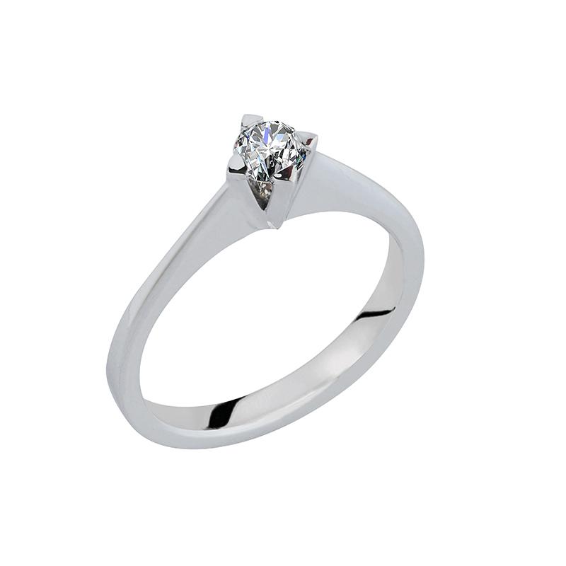 Μονόπετρο με διαμάντι 0,24ct  ΛΔΜ00012