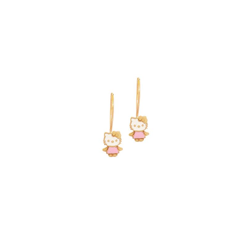 Παιδικό χρυσό σκουλαρίκι 9Κ  ΧΕ0001