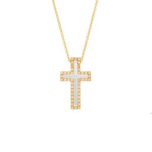 Χρυσός σταυρός 14κ ΧΣ00027