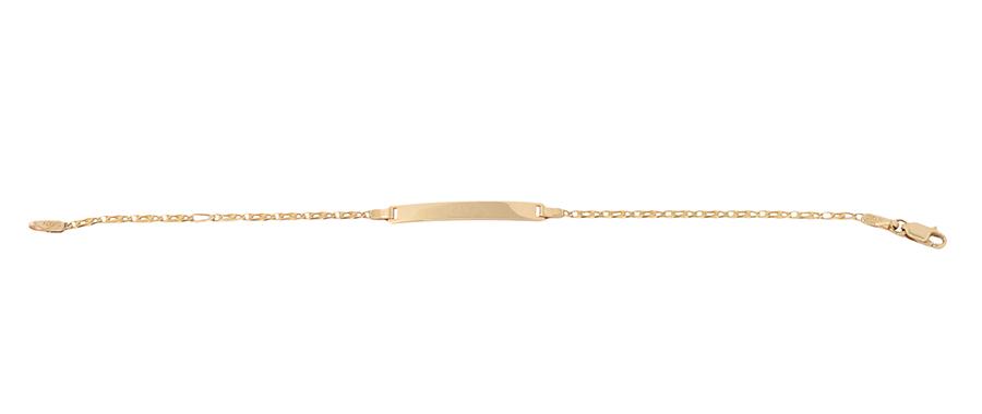 Χρυσό βραχιόλι 14Κ  ΧΒ00026