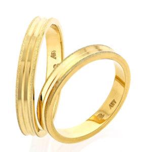 Χρυσές Βέρες 14κ S102 Gcd