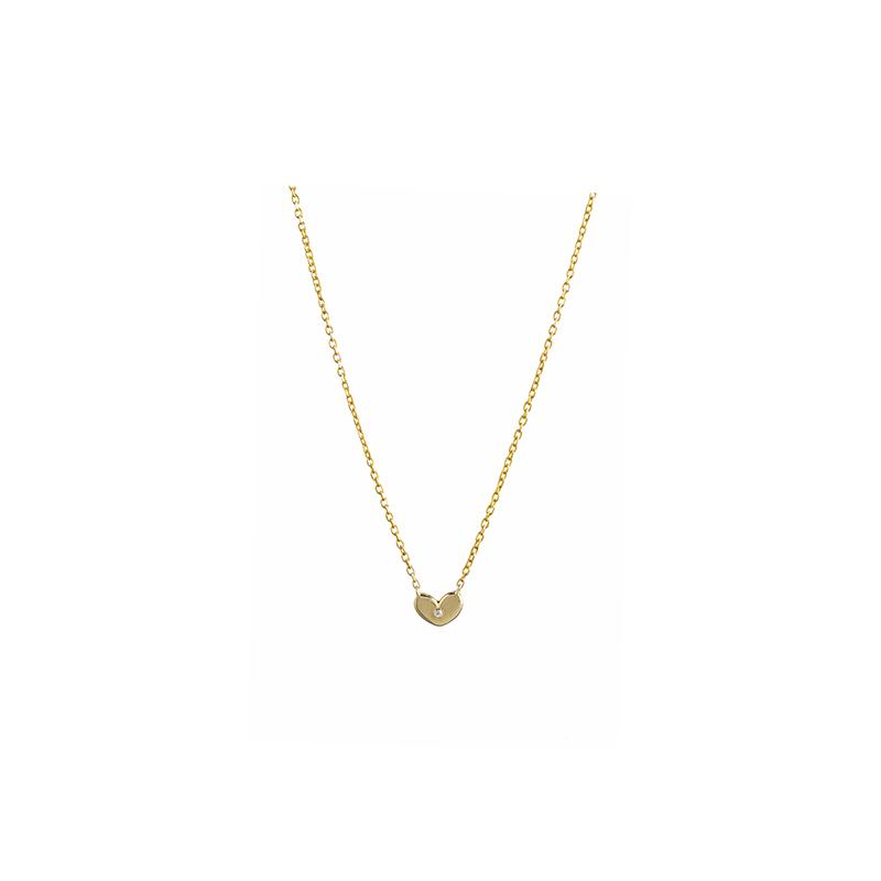 Χρυσό Κολιέ Καρδιά 14κ – ΧΚ00039