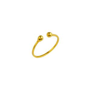 Χρυσό Δαχτυλίδι 14Κ KD00056