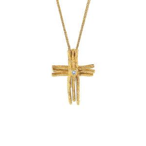 Χρυσός Σταυρός 14Κ XS00036