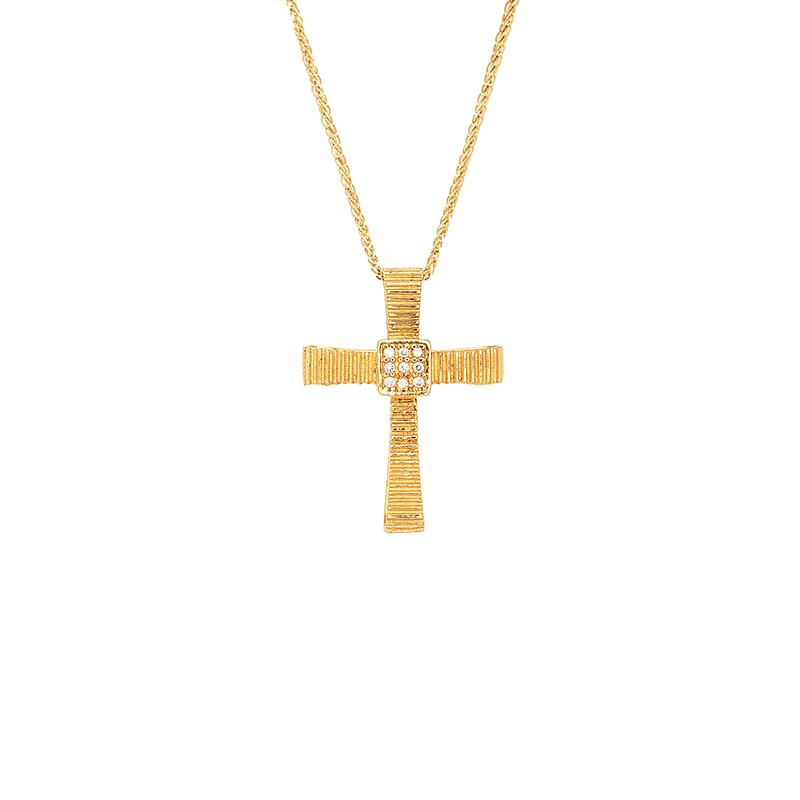 Χρυσός Σταυρός 14Κ XS00041