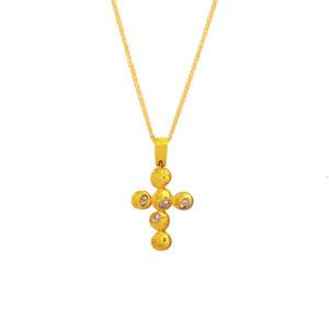 Χρυσός Σταυρός 14Κ XS00043