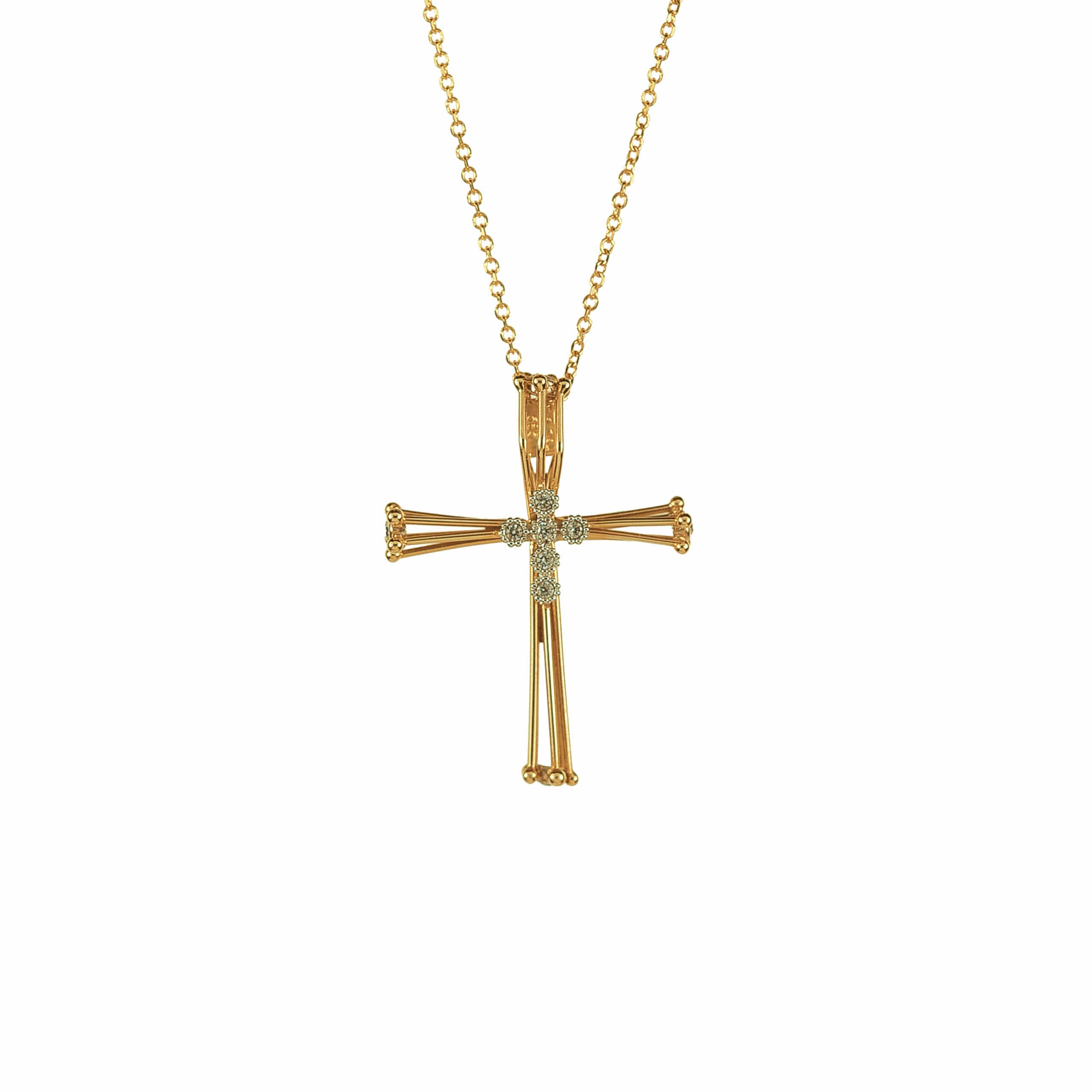 Χρυσός Σταυρός 14Κ XS00024