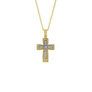 Χρυσός Σταυρός 14Κ XS00028