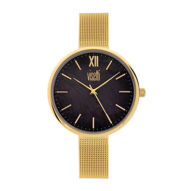 VISETTI Dress Code Gold Stainless Steel Bracelet RI-WSW352GB