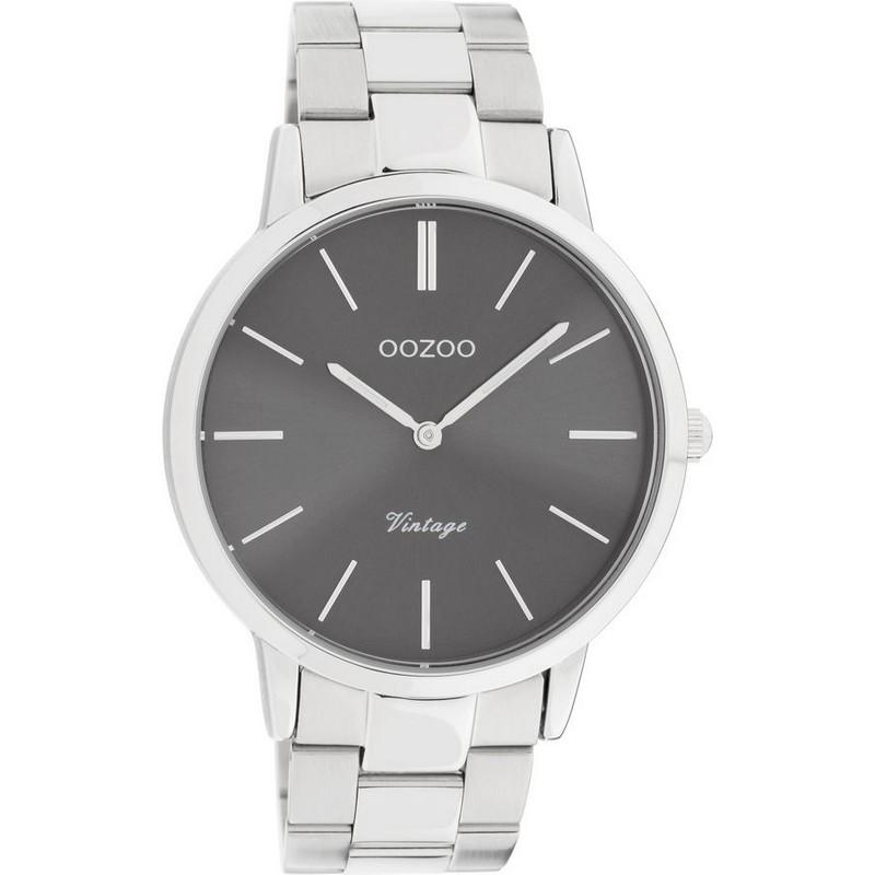 OOZOO Vintage 42mm Silver Bracelet C20021