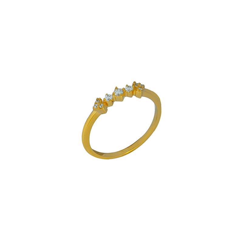 Χρυσό Δαχτυλίδι 14κ ΧΔ00071